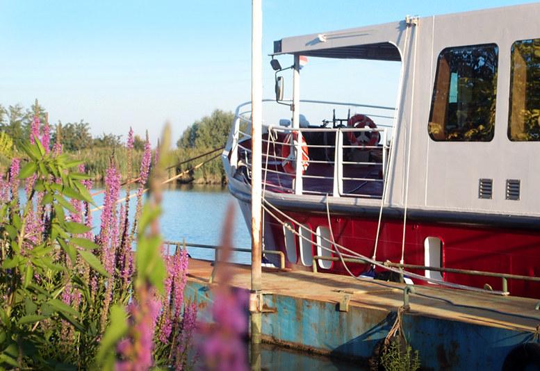 Barca ave maria crociere fluviali sul fiume po bici e for Cabine del fiume bandera
