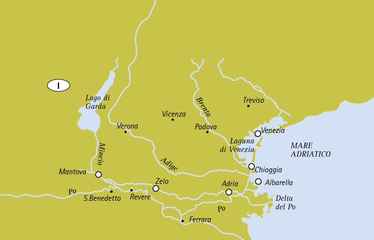 Mappa Unesco Tour for individuals